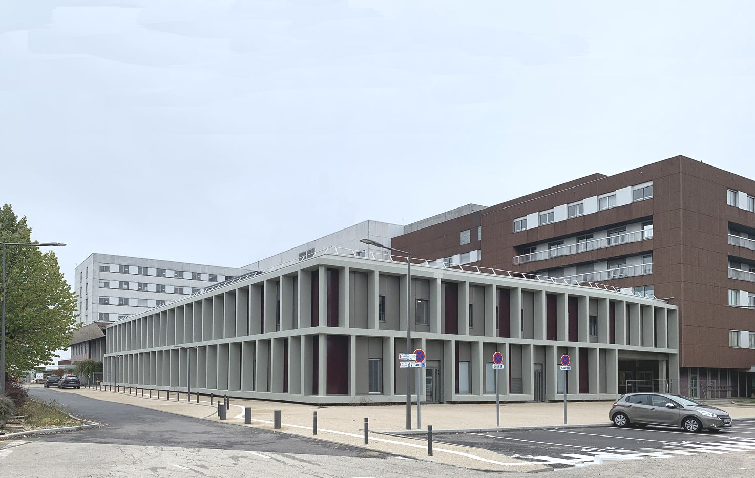 Carta architectes, Hôpital